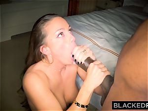 BLACKEDRAW Abigail Mac's husband Sets Her Up With fattest bbc In The World