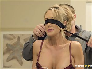 The hubby of Brandi enjoy lets her pummel a different boy