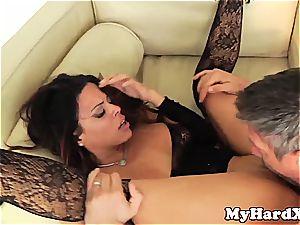 nasty Latina Luna starlet pussyfucked