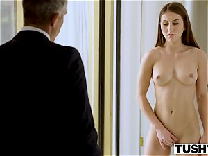 TUSHY assistant Makes Her manager Work For ass fucking