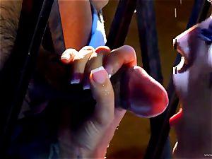 Capri Cavalli gets her moist vulva stuffed with rock-hard manmeat