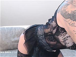 Striptease mit NinaDevil
