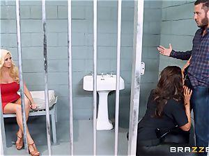 Bad cop Ava Koxxx steals Summer Brielles boy