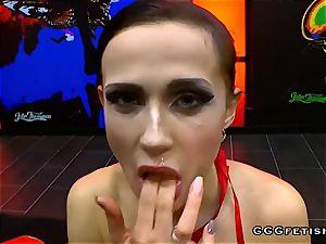 Czech mega-slut nicole enjoy gets poking with bukkakes in orgies