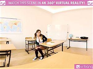 VR PORN-Fucking her way across school