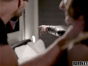 pure TABOO Emily Willis Accepts customer For rough intercourse