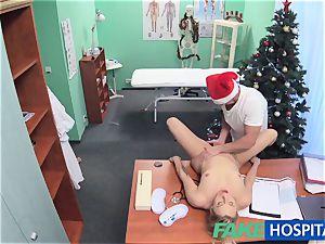 FakeHospital doc Santa jizzes twice this yr