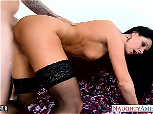 amazing India Summer in tights deepthroats trouser snake