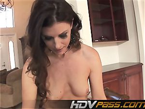 HDVPass interracial hump with India Summers