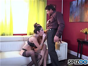 Dava Foxx caught with smoking super-steamy Jessica Jaymes