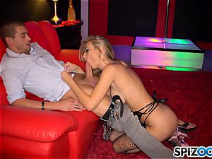 super-sexy stripper Natalia Starr gives suck off and plunged in her honeypot pie by her favorite customer