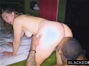 BLACKEDRAW girlfriend cheats with the largest meatpipe she's EVER seen