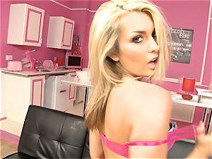 gorgeous Natasha Marley unsheathes her sugary-sweet lush arse