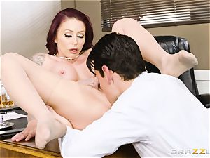 Monique Alexander plowed from the rear