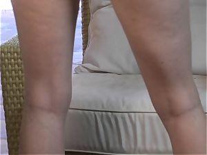 steamy Tori ebony showcases off her puffy plump boobies