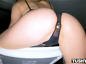 TUSHYRAW Tori ebony in her RAWEST buttfuck sequence Ever