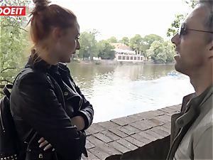 LETSDOEIT - crazy teen Gets All wet On a superstars dick