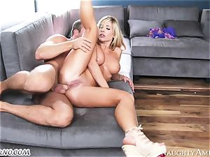 gonzo hook-up with delightful uber-cute towheaded Tasha Reign