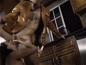 Spoiled pt two Chanel Preston gets her super-hot muff treated
