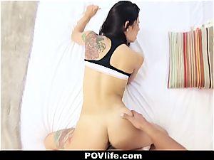 spectacular Latina Gina Valentina pov penetrating