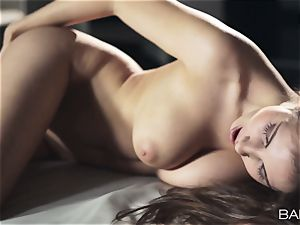 beautiful Connie Carter nude getting off