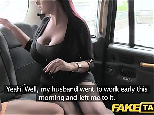 faux taxi assistant female with phat breasts and raw pussy