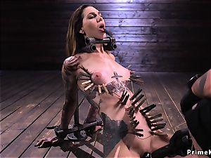 Tall alt sub zippered and flogged