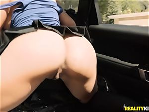 buxomy blonde beauty gets picked up and absolutely plowed