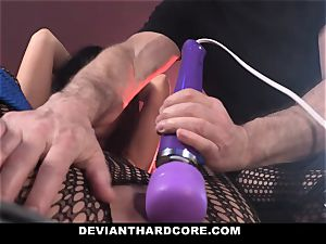 DeviantHardcore insatiable asian Gets tight cunt whipping