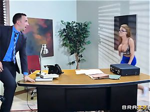 Britney Amber getting fucked in her ass and cooter