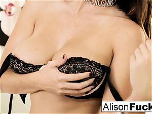 huge tittie Alison teases