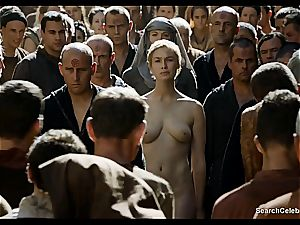 Lena Headey bares her naked figure in Game of Thrones