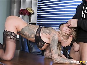 Karma Rx takes poon boinked in the office