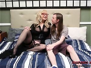 ConorCoxxx- Hardley investigating with Nina Hartley