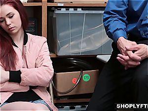 Shoplifting is a beaver nailing offense