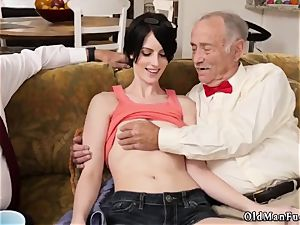super-steamy milf youthful knob and curly brunette mother Frannkie heads down the Hersey highway