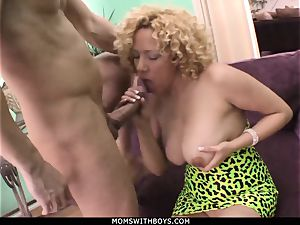 cougar Michelle stunner gigantic titted Get jizz Showered