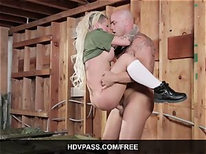 inked beauty Christy Mack xxx Army sex movie
