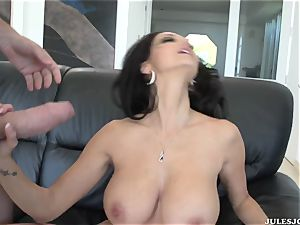 huge-boobed porn starlet Ava Addams with a flawless body gets her arse fuck-fest deep pulverizing