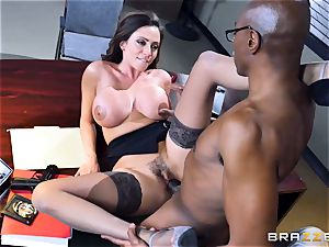 kinky office joy with Ariella Ferrera