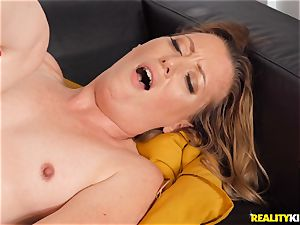 Breanna Bree super-naughty and railing on top