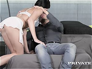 Private.com - Lovenia Lux loses her ass-fuck virginity