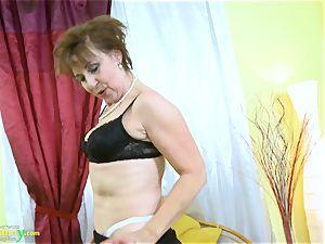 older nanny super-hot insatiable granny seductive Striptease
