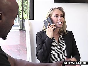 SHEWILLCHEAT - crazy Real Estate Agent bangs bbc