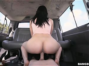 wondrous dark haired picke dup and porked