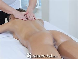PASSION-HD running in rivulets internal cumshot shag with Adriana Chechik
