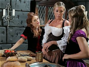 Samantha Saint Penny Pax Carter Cruise three-way