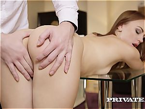 mischievous college girl Kira Thorn Takes an anal invasion...