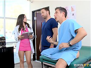 hot physician Tiffany starlet screws a huge dicked patient