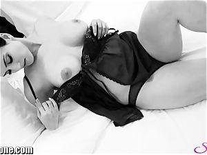 Sunny Leone in her new dark-hued